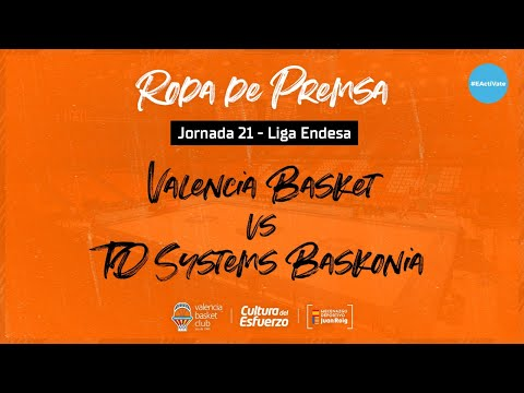 Rueda de Prensa post J21 Liga Endesa vs TD Systems Baskonia