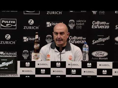 Rueda de prensa COMPLETA Post J21 Liga Endesa Valencia Basket vs TD Systems Baskonia