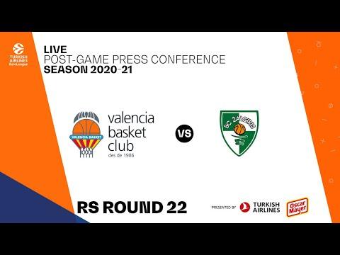 Rueda de Prensa post J22 Turkish Airlines EuroLeague vs Zalgiris Kaunas