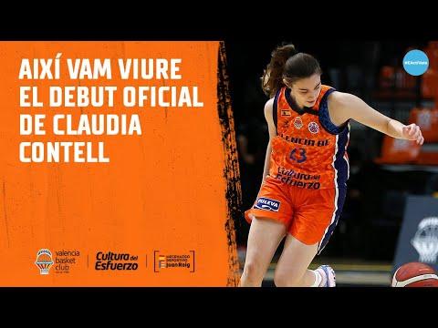 Así vivimos el debut oficial de Claudia Contell