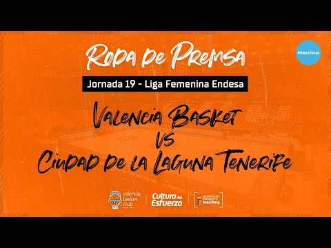 Rueda de prensa post J19 LF Endesa vs Ciudad de La Laguna