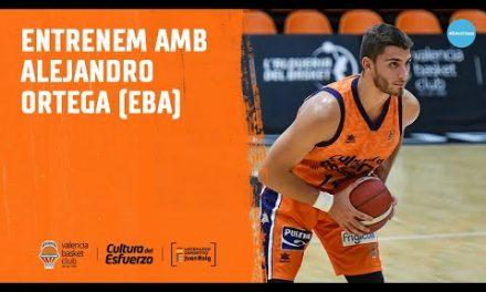 Entrenamos con… Alejandro Ortega (EBA)