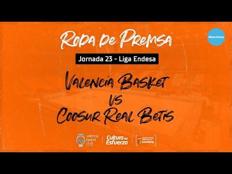 Rueda de prensa post J23 Liga Endesa vs Coosur Real Betis