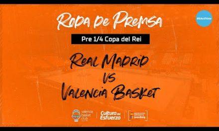 Rueda de prensa Jaume Ponsarnau y Sam Van Rossom pre 1/4 Copa del Rey