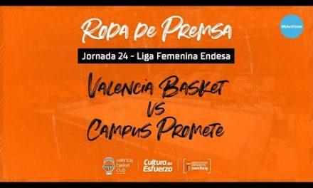 Rueda de prensa post J24 LF Endesa vs Campus Promete