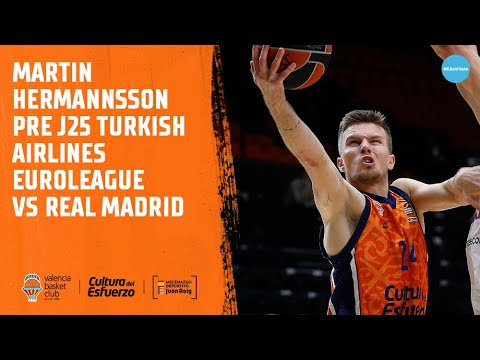 Martin Hermannson Pre J25 Turkish Airlines Euroleague vs Real Madrid