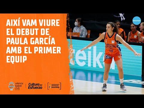 Así vivimos el debut de Paula García con el primer equipo