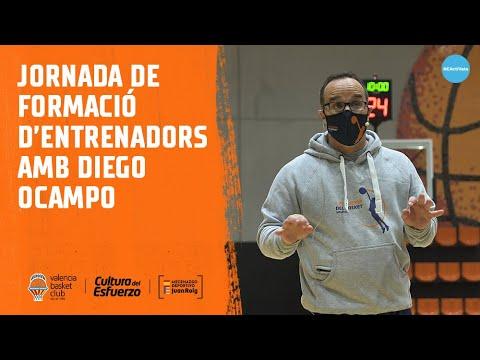 Jornada de formación de entrenadores con Diego Ocampo