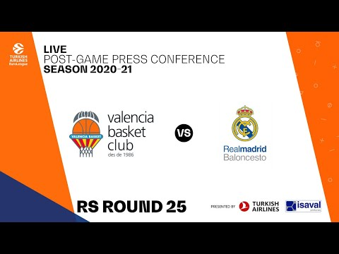 Rueda de prensa post J25 Turkish Airlines EuroLeague vs Real Madrid