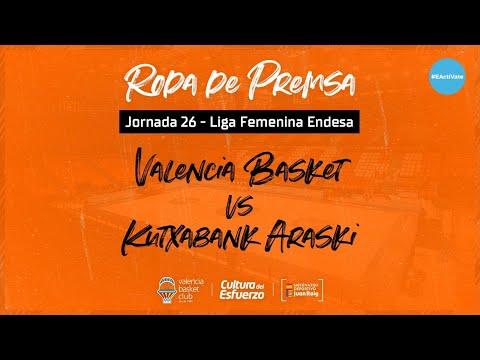 Rueda de prensa post J26 LF Endesa vs Kutxabank Araski