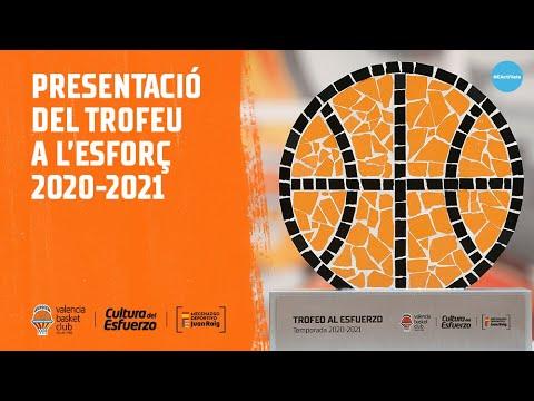 Presentación del Trofeo al Esfuerzo 2020/2021