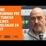 Jaume Ponsarnau pre J26 Turkish Airlines EuroLeague en Zenit