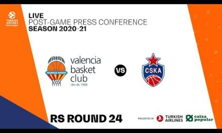 Rueda de Prensa post J24 Turkish Airlines EuroLeague vs CSKA Moscow