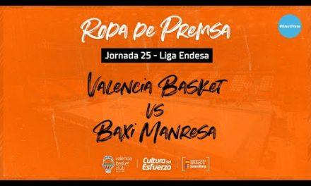 Rueda de prensa post J25 Liga Endesa vs Baxi Manresa