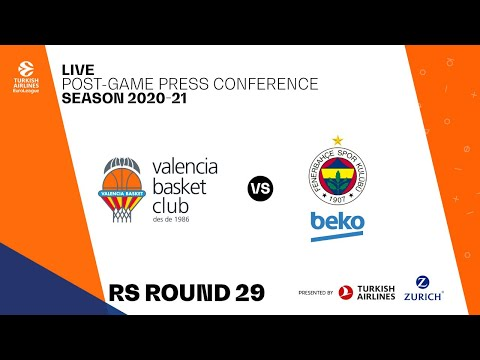 Press Conference J29 Turkish Airlines EuroLeague vs Fenerbahce Beko