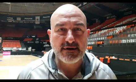 Jaume Ponsarnau Pre J27 Liga Endesa vs Barça