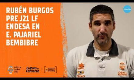 Rubén Burgos pre J21 LF Endesa en Embutidos Pajariel Bembibre