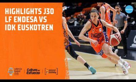 Highlights J30 LF Endesa vs IDK Euskotren