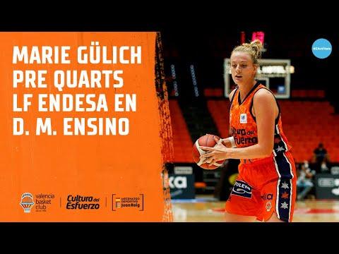 Marie Gülich pre Cuartos LF Endesa en Durán Maquinaria Ensino