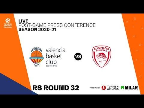 Rueda de prensa post J32 Turkish Airlines EuroLeague vs Olympiacos Pyraeus