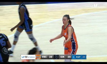 Ouviña asiste a Carrera sin mirar pre semifinales EuroCup Women vs Carolo Basket