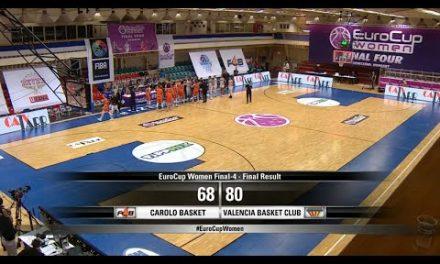 Highlights semifinal Eurocup Women vs Flammes Carolo Basket