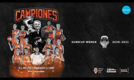 Acto de celebración Eurocup Woman 2021