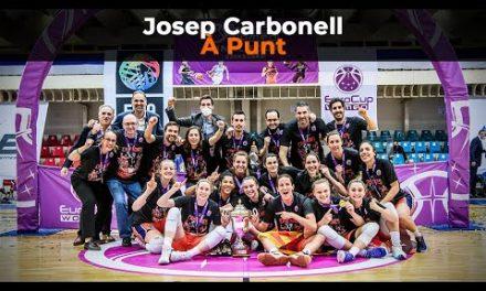 Así se narró la Eurocup Women en À Punt con Josep Carbonell y Nacho Rodilla