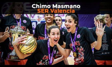 Así se narró la Eurocup Women en Radio Valencia Cadena SER con Chimo Masmano