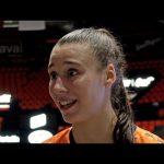 Raquel Carrera valora la actualidad y su elección en el draft WNBA