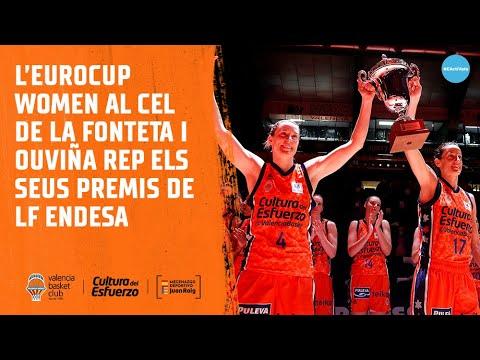 Un prepartido muy especial para Valencia Basket y Cristina Ouviña