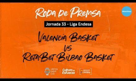 Rueda de prensa post J33 Liga Endesa vs Retabet Bilbao Basket