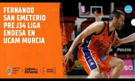 Fernando San Emeterio Pre J34 en UCAM Murcia