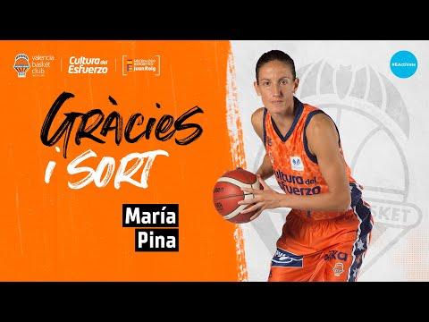 Agradecimiento a María Pina