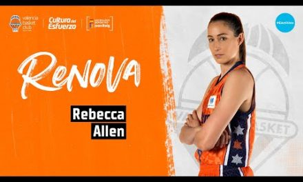 Rebecca Allen renueva con Valencia Basket