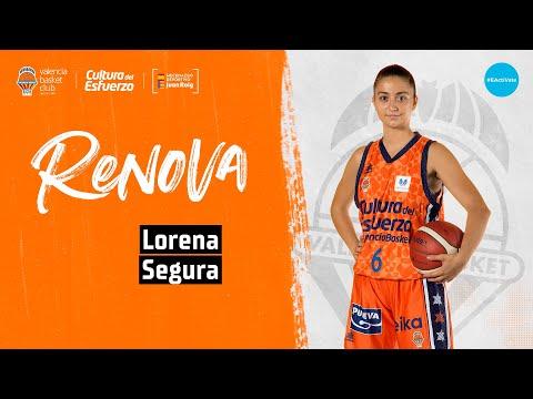 Lorena Segura renueva con Valencia Basket