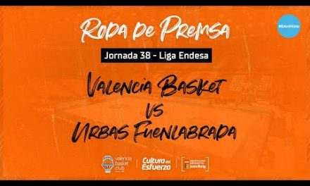 Rueda de prensa post J38 Liga Endesa vs Urbas Fuenlabrada