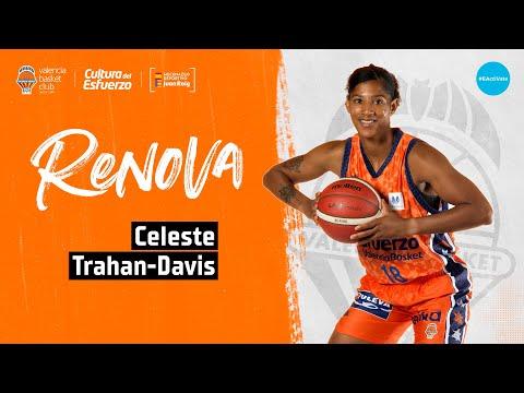 Celeste Trahan Davis renueva con Valencia Basket