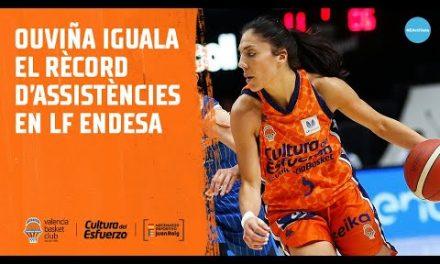 Cristina Ouviña iguala el récord de asistencias en LF Endesa