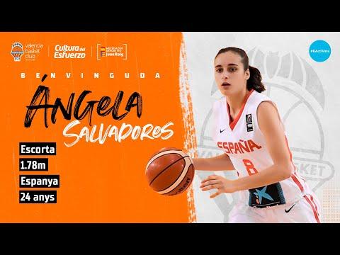 Ángela Salvadores nueva jugadora del Valencia Basket