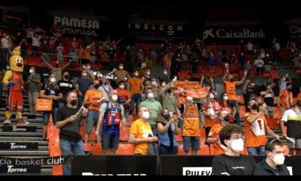 Aplauso Final P1 Cuartos Final Play Off vs TD Systems Baskonia