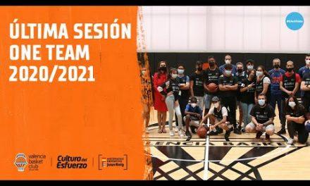 Ultima sesión One Team 20/21