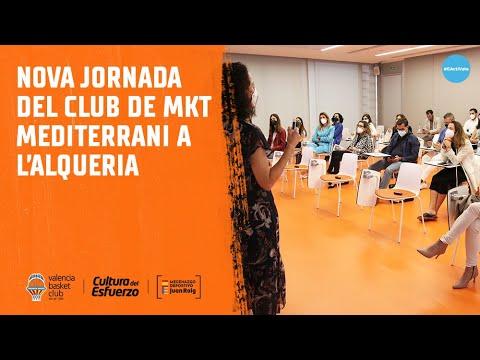 Jornada del Club de Marketing Mediterráneo en L'Alqueria del Basket