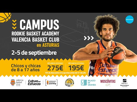 Valencia Basket y la Rookie Basketball Academy lanzan un nuevo Campus en Asturias