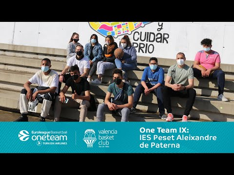 One Team IX – IES Peset Aleixandre Paterna (La Coma)