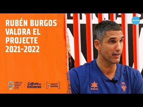 Rubén Burgos valora el proyecto 2021-22