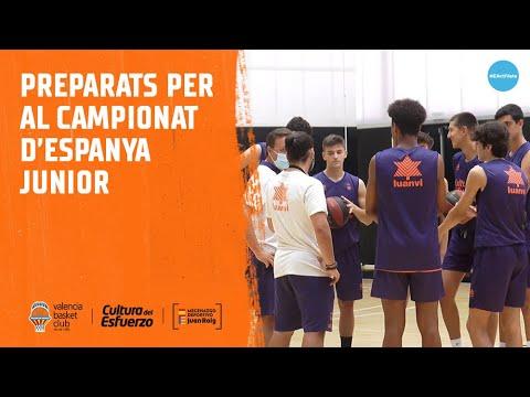 Preparados para la fase final del Campeonato de España Junior