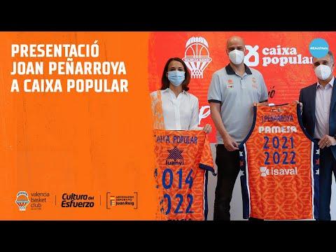 Presentación de Joan Peñarroya en Caixa Popular
