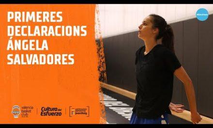 Primeras declaraciones de Ángela Salvadores