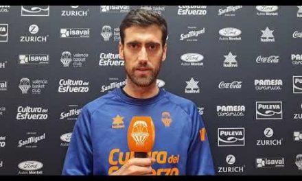Declaraciones Joan Sastre previa partido 1 semifinales Real Madrid- Valencia Basket
